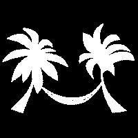 Palmen Hängematte Urlaub Geschenkidee