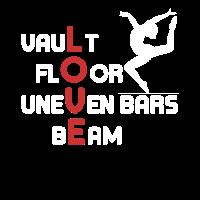 Vault Floor Uneven Bars Beam LOVE Gymnastics