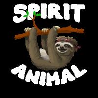 Sloth Spirit Animal Shirt