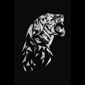 Tiger Low Polygon Tiger Low Poly Tiger