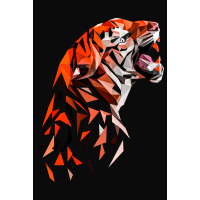 Tiger Low Poly