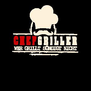 Chefgriller white