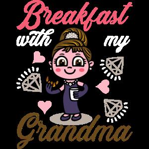 Frühstück mit meiner Oma