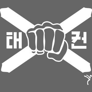 Scotland Taekwondo ITF fist and flag motif