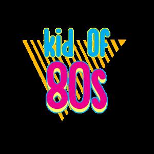 80er Jahre Design: Kid of 80s