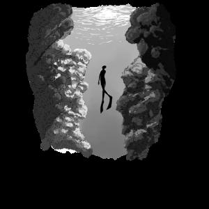 Taucher Geschenk Diving tauchen Sport