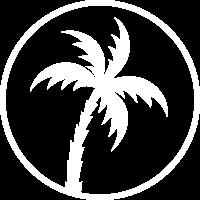 palme kreis icon
