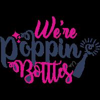 Wir sind Poppin-Flaschen