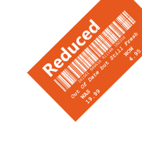 Reduziert - veraltetes Orange