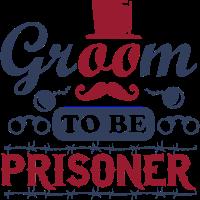 Bräutigam, zum Gefangener zu sein