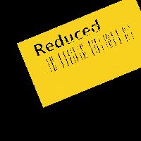 Reduziert - veraltet gelb
