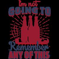 Ich werde mich nicht daran erinnern