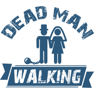 Toter Mann zu Fuß