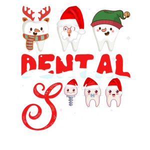 Dental Squad Tooth Christmas Tshirt Dental