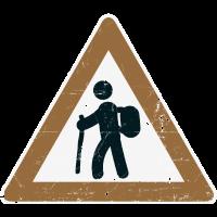 Wandern schild