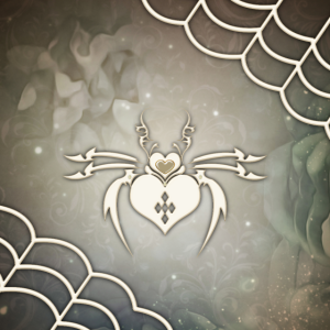 Wunderbarer dekorativer Kronleuchter mit Herzen