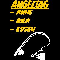 Angeltag - Angler T-Shirt - Angler Hobby
