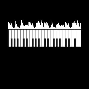 Piano Pianist Klavier Keyboard Musiker Geschenk