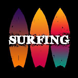 Surfbrett Longboard Shortboard