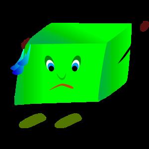 Blockies drama green