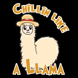 Lama chillen
