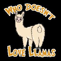 Wer liebt Lamas
