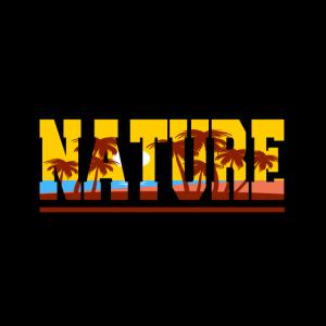 Nature with palm trees - Natur mit Palmen
