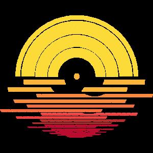 Vinyl Sonnenuntergang - DJ, Musik und Sommer