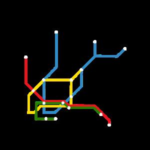Hamburg U-Bahn U Bahn UBahn Regenbogen