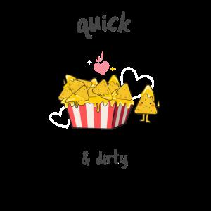 Nachos Käse Salsa Kino Quick & Dirty Chips