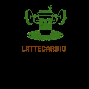 Latte Cardio Latte Macchiato Sport Fitness Muskeln
