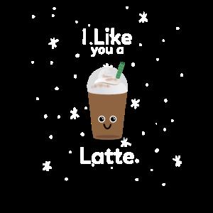 Latte Macchiato Kaffee Comic Latte Schokolade