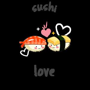Sushi Love Fisch Sushi Essen Tokio japan