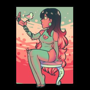 Elfenbein die künstliche Göttin