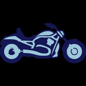 Motorrad fahrer Profil 2901