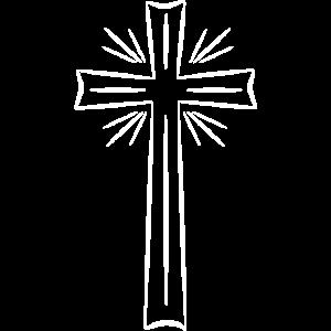 Kreuz weiß