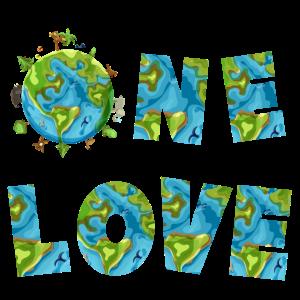 Planet Erde - One Love - Umweltschutz Klimawandel