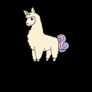 Lama Einhorn