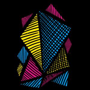 CMYK Geometrical Structure