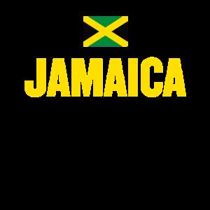 Jamaika druckt ein jamaikanisches Flag-Geschenk-Andenken