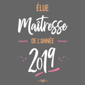 Maitresse de l'année 201