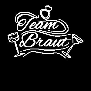 Team Braut JGA Junggesellin Geschenk