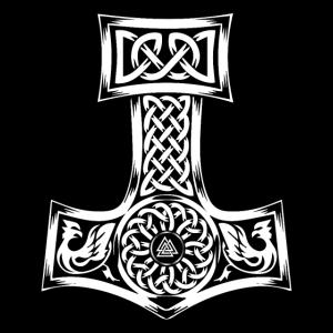 Mjolnir Thor Nordic God Produkt Hammer Vintage