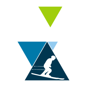 Abfahrt Skifahren