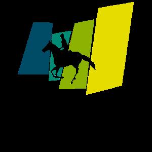 Wildpferd Reiterin
