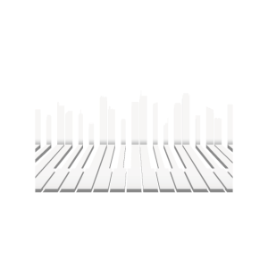 Piano Skyline Keyboard Music TShirt