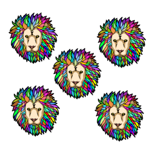 Löwe Löwen Löwenköpfe Fantasy