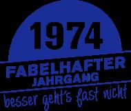 Jahrgang 1970 Geburtstagsshirt: 1974 Fabelhafter Jahrgang geboren
