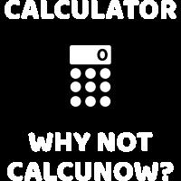 Rechner - Warum nicht calcunow? (weißer Text)