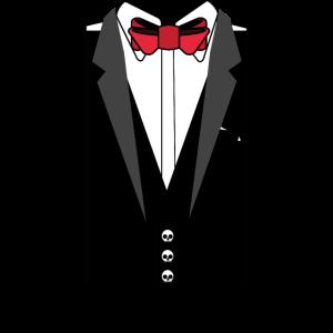 Totenkopf Anzug Hochzeit Geschenk